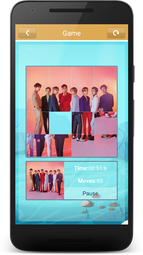 Code Triche EXO Slide Puzzle Game (Astuce) APK MOD screenshots 3