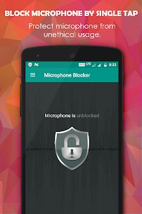 Microphone Blocker PRO MOD APK by FRENZYCODERS 1