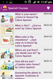 Learn Spanish Podcast