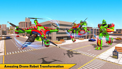 Drone Robot Transforming Game 2.3 screenshots 8