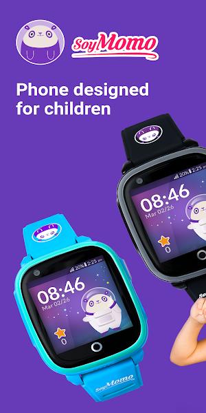 SoyMomo - Mobile GPS watch for children