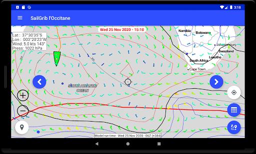 SailGrib for Virtual Regatta  Screenshots 14