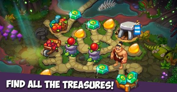 Caveman Dash – time management game Apk İndir 2
