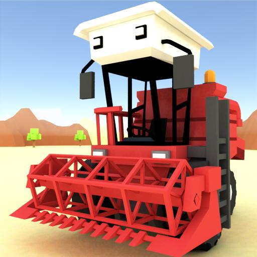 Blocky Farm Racing & Simulator - free driving game