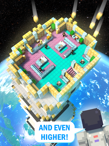 Tower Craft 3D - Idle Block Building Game  screenshots 8