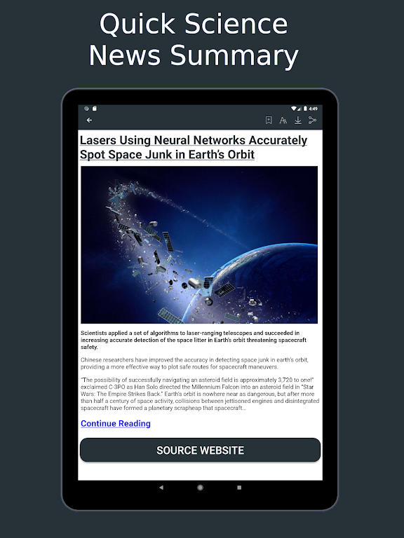 Science News Daily: Science Articles and News App  poster 8