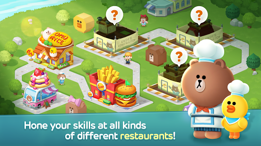LINE CHEF Piske & Usagi Tie-Up On Now! apktram screenshots 15