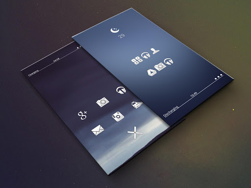 Plain - Icon Pack screen 1