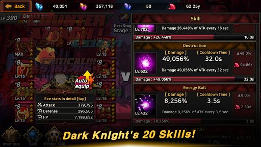 Dark Knight : Idle RPG game 0.1017 screenshots 6