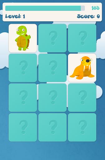 Animals memory game for kids  screenshots 5