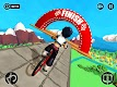 screenshot of Fearless BMX Rider 2019