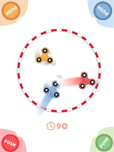 Hand Spinner / Fidget : 1 à 4 joueurs APK MOD – ressources Illimitées (Astuce) screenshots hack proof 2