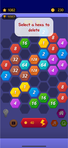 Number Merge 2048 - 2048 hexa puzzle Number Games 7.9.12 screenshots 3