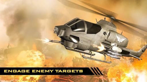 GUNSHIP COMBAT - Helicopter 3D Air Battle Warfare 1.45 screenshots 6