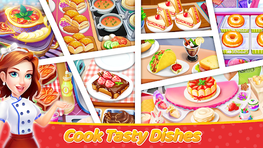 Craze Cooking Tale: Fast Restaurant Cooking Games (MOD, Unlimited Money) 2