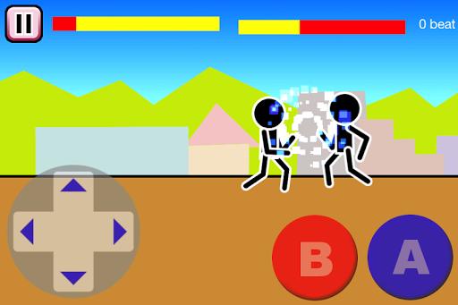 Fighting games Mokken: stick man battle modavailable screenshots 2