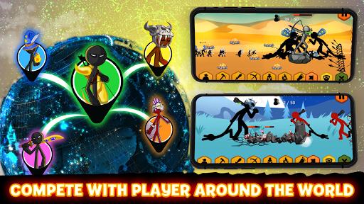 Stickman Battle 2021: Stick Fight War APK MOD screenshots 2