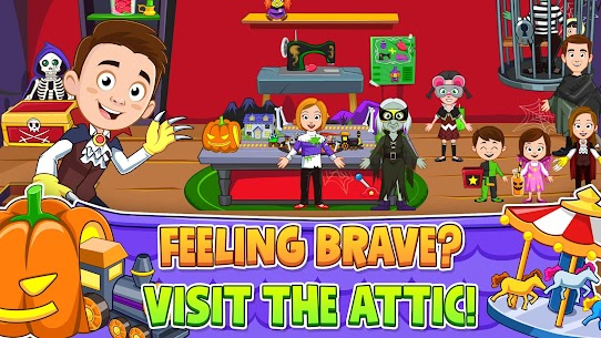 My Town : Haunted House Free (MOD, Unlimited Money) 3