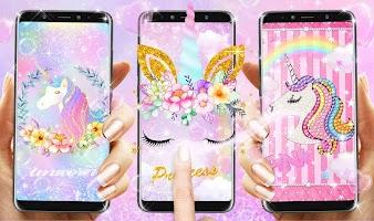 Flower Unicorn Live Wallpaper
