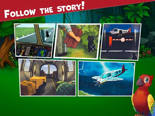 Island Puzzle: story basiertes game. Match offline  screenshots 10