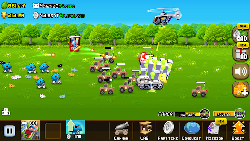 Idle Cat Cannon android2mod screenshots 4