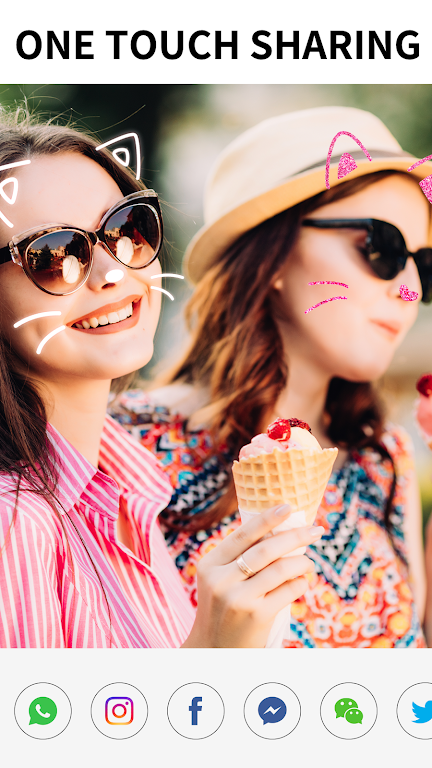Sweet Snap Camera– Face Camera & Photo Filters  poster 7