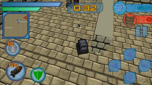 mini tank wars screenshot 1