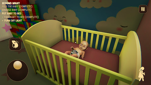 Baby in Pink Horror Game: Scary Babysitting games 0.6 screenshots 8