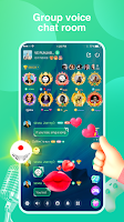 screenshot of Falla-Group Voice Chat Rooms