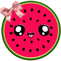 Cute Watermelon Wallpaper HD 4K