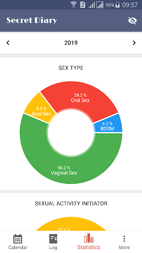 Sex Life - Sex Tracker, Diary of Sex, Sex Calendar 1.0.3 Screenshots 4