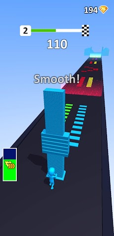 Color Pillar: Satisfying & Smooth Free Gameのおすすめ画像3