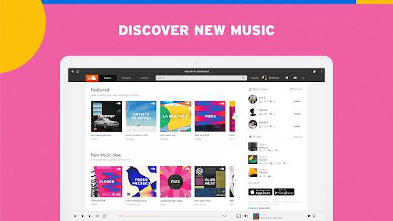 SoundCloud for Chromebooks 2 Screenshots 1