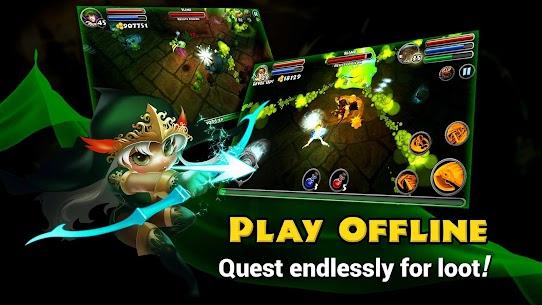 Tải Dungeon Quest MOD APK 3.1.2.1 (mua sắm miễn phí) 2
