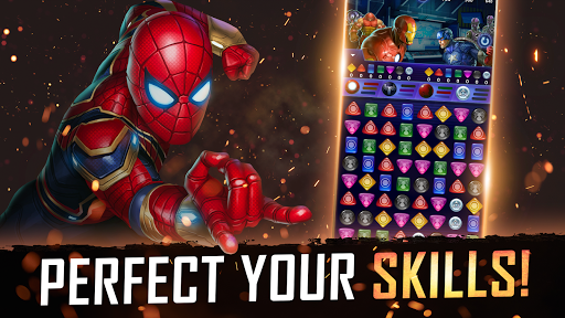 MARVEL Puzzle Quest: Join the Super Hero Battle! APK MOD Download 1
