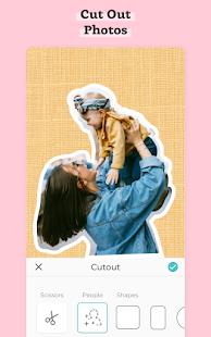 Pic Collage — Éditeur de photos Capture d'écran