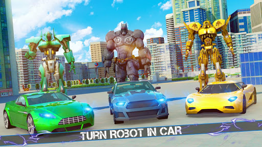 Grand Robot Car Crime Battle Simulator apktram screenshots 1