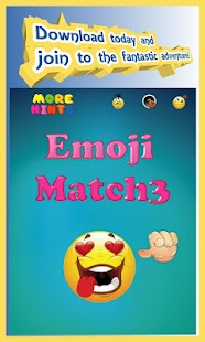 Emoji Boom - Free Match 3 Puzzle Game Screenshot