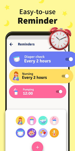 Baby Tracker, Feeding, Diaper Changing for Newborn 1.0.10 Screenshots 4