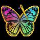 Cross Stitch Gold: クロスステッチ 無料、番号による色、縫製パターン、刺繍