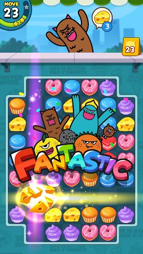 Sweet Monsteru2122 Friends Match 3 Puzzle | Swap Candy 1.3.2 screenshots 10