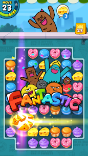 Sweet Monster™ Friends Match 3 Puzzle | Swap Candy 10