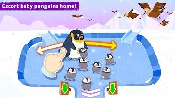 Little Panda's Penguin Run