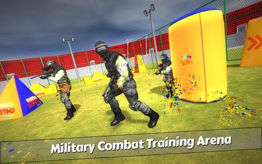 PaintBall Shooting Arena3D : Army StrikeTraining  screenshots 3