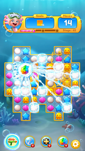 Ocean Friends : Match 3 Puzzle 41 screenshots 6