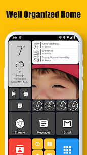Square Home – Launcher : Windows style 2.1.15 Apk 1