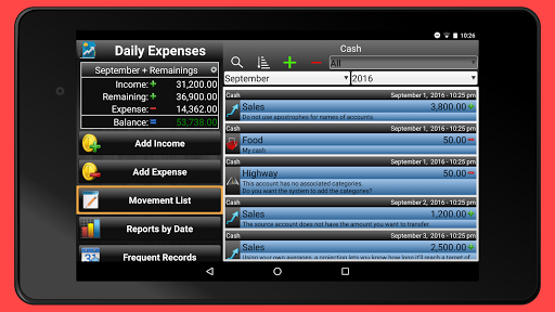 Daily Expenses 2: Personal finance android2mod screenshots 11