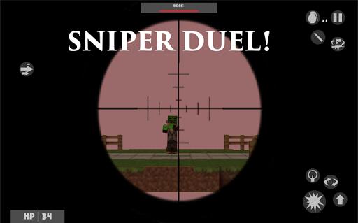 Legend Strike Zombie Sniper Shoot War Online screenshots 4