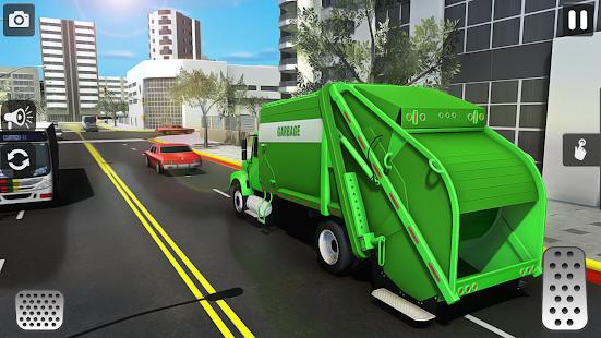 City Trash Truck Simulator: Dump Truck Games 1.37 Screenshots 5