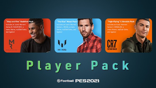 eFootball PES 2021 APK MOD 5.5.0 (Unlimited Money) 8